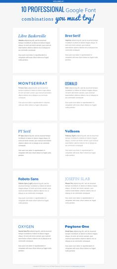 10 Best Google Font Combinations You Haven't Tried Yet