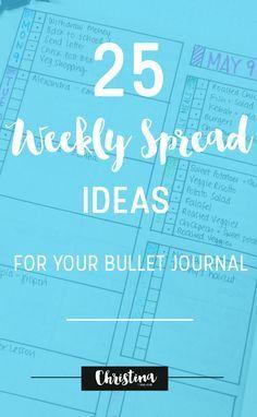 25 idées de pages / 25 layout ideas ♤Melyk