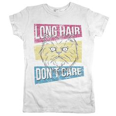 'Long Hair Don't Care Cat'