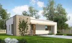 Những mẫu nhà cấp 4 mái bằng đẹp giá rẻ kiến trúc hiện đại