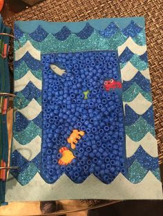 I Spy Under the Sea I Spy, Busy Book, Quiet Books, Pediatrics, Under The Sea, Quilts, Blanket, Ideas, Quilt Sets