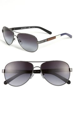 Tory Burch Aviator Sunglasses available at #Nordstrom