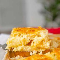 Popeye's Cole Slaw Recipe (Perfect Copycat!) - Dinner, then Dessert Easy Lamb Recipes, Side Dish Recipes, Potato Recipes, Potato Dishes, Best Scalloped Potatoes, Scallop Potatoes, Salt And Vinegar Potatoes, Slow Cooker Pork, Chops Recipe