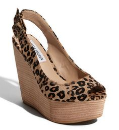 perfect animal print w/ black skinny jeans or in summer time w/ LBD!