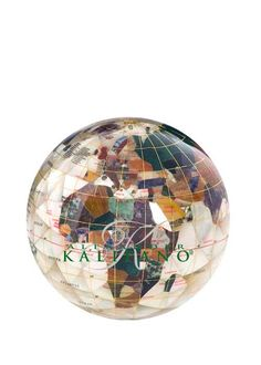 Mother of pearl #world #globe