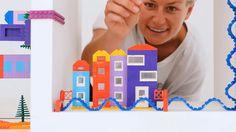 """Um diese neue Erfindung reißt sich derzeit die ganze Welt. Die """"Nimuno-Loops""""-Klebebänder verwandeln sämtlicheObjekte in Lego-Bauflächenund damit wird für viele…"""