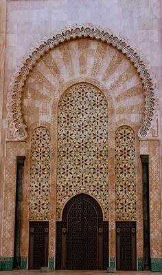 Ornate Designs - Casablanca, Morocco