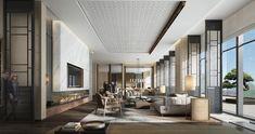 Lobby Bar, Hotel Indigo, Plaza Hotel, Hotel Interiors, Living Room, Mirror, Table, Furniture, Design