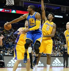 Down by two at the half, Iguodala and the Warriors took control of the game in the third quarter and out-scored L.A. 63-35 after the break.