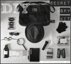 Best 10 DIY detective kits for kids - fun and affordable ideas for creating a homemade spy kit. Many of the items included in these kits come from the dollar store. Looking for clues will keep the kids busy for hours. What a fun pretend play idea- at Non Toy Gifts