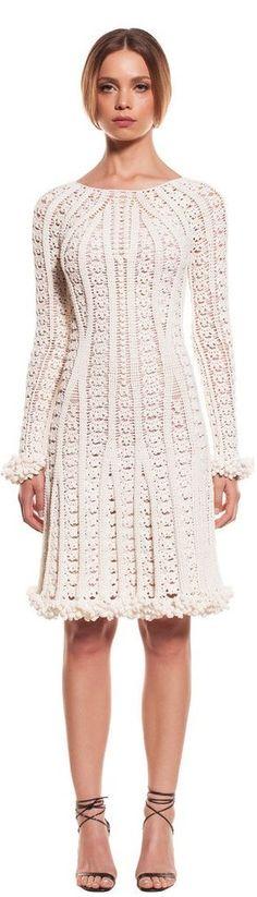 Örgü Bayan Elbise Modelleri 7