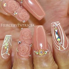 #FiercebyPatricia A gorgeous custom made nude to give this set the finishing touch it needed to surpass my expectations