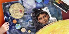Как нарисовать КОСМОС своими руками | How to draw outer space with planets and stars