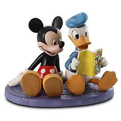 "Donald Duck and Mickey Mouse - ""Comic Book Companions"" Fourth in Classic Comic Series Production Year Limited 2011"