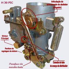 Carburador PIC 30 Solex - VW 1300