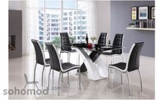 128 Dining Room Set (Dining Table + 4 Chairs) by American Eagle Furniture