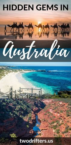 Australia travel - Hidden gems you MUST see in Australia. Western Australia, the Outback.
