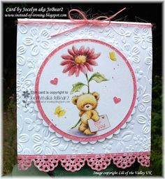 WT408 Teddy's birthday wishes by JoBear2 - Cards and Paper Crafts at Splitcoaststampers