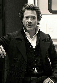 "on the set of ""Sherlock Holmes: A Game of Shadows"" Warner Bros Movies, Iron Man Movie, Robert Downey Jr., Guy Ritchie, I Robert, 221b Baker Street, Downey Junior, John Watson, Tony Stark"