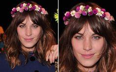 arranjo de flores do campo cabelo - Pesquisa Google