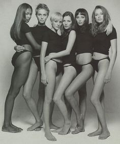 some supermodels from the '90s