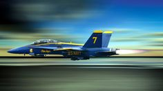 F-18 - Blue Angel #7 ~ I know it's a plane, I wanna ride in it so bad!