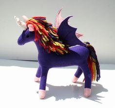 Rainbow Flyer Pegacorn Lavender Pegacorn by TheRoamingPeddlers