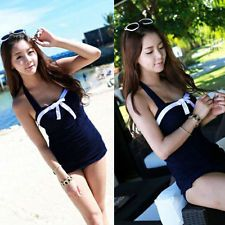Fashion Retro Swimsuit Swimwear Vintage Pin Up High Waist Bikini Set T15S