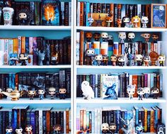 All of the pop figures are a fun accessory to the bookshelf!