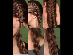 Hair, How to braid 101 (French, Dutch, Fish, Rope, 4 strand, and 5)