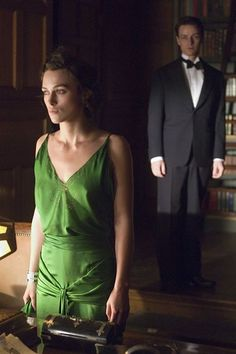 Atonement (2007)Time Period: England, 1940sThe Keira Knightley drama isn't as good as the Ian McKewan novel it's based on, but that green dress is pretty much everything.Watch on iTunes. #refinery29 http://www.refinery29.com/best-period-films#slide-3