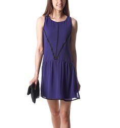 Robe chic femme - Bleu Cobalt - Robes - Femme - Promod
