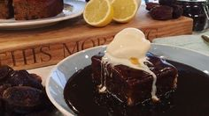 Phil Vickery's sticky toffee pudding