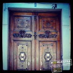 Puerta de la Junta Central de Fiestas / Palacio Familia Mergelina. #DeMuestraVillena www.muestravillena.villena.es www.facebook.com/Muestravillena @muestravillena