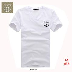 Gucci V-neck T-shirts : cheap shoes,clothing,belts,sunglasses,hats Gucci T Shirt Mens, Gucci Men, Casual Wear, Casual Shorts, Cheap Gucci, Gucci Outfits, Cheap Shoes, V Neck T Shirt, Belts