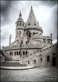 Fisherman's Bastion – Budapest, Hungary Budapest Travel, Budapest Hungary, Tower Bridge, Travel Photography, Design, Design Comics, Travel Photos