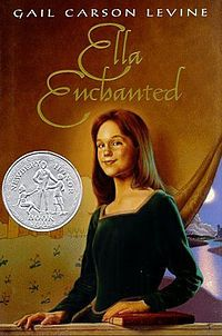 Let's Try Some Feminist Princesses - Ella Enchanted is Gail Carson Levine's take on the Cinderella story. --- I remember reading this book over 30 times in the third grade alone! Loved it! Ya Books, I Love Books, Good Books, Books To Read, Amazing Books, Enchanted Book, Ella Enchanted, This Is A Book, The Book