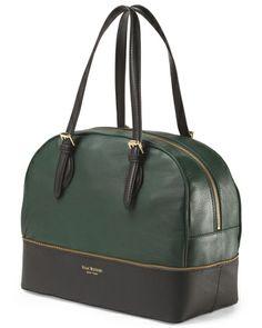 2075e0c900a1 Leather Diana Satchel - Handbags - T.J.Maxx My Style Bags