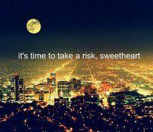 risk it.