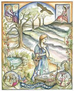 Lugnasad:  And so the wheel turns...joyful thanks for abundant harvests!