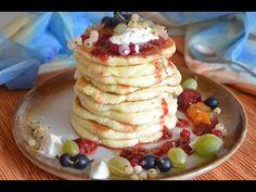 Pancakes, Gluten, Breakfast, Youtube, Free, Morning Coffee, Crepes, Pancake, Youtubers