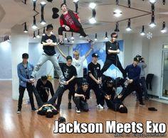 Got7 Jackson meets EXO | allkpop Meme Center