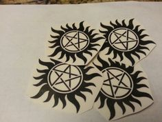 Temp tats can be the perfect finishing touch for your costumes:  http://www.etsy.com/listing/155895334/4x-supernatural-temporary-tattoos