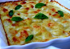 Gnocchi Mac n'Cheese--um...nothing about this is health, but oh my I need to try!
