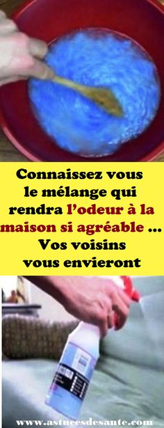 Connaissez vous le mélange qui rendra l'odeur à la maison si agréable … Vos voisins vous envieront #mélange #odeur #maison #astucesmaison #voisins Home Staging, Agriculture, Cleaning, Homemade, How To Plan, Camille, Casual, Homemade Perfume, Clean House