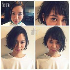 《For 就活生》前髪はオンオフ使い分けるべし。流し前髪&オン眉の2wayバングHow to|MERY [メリー]