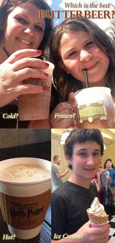 What is the best version of Butterbeer at Universal Orlando's Wizarding World of Harry Potter?
