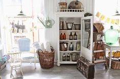 Ja for det er det som er tema i min butikk,rustikk og landelig ! Akkurat nå er utvalget stort i min lille butikk, siden nye varer kom i ...