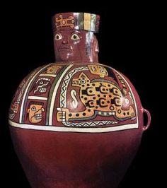 Ceramica que corresponde a la cultura  Tiahuanaco,que se desarrollo en Peru,Bolivia y parte de Chile