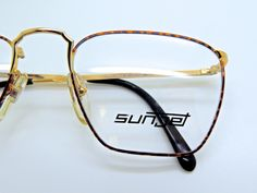 7f112ce7af88 Made in Italy CARRERA SUNJET 5201 Tortoiseshell and Gold Quadra Rims.  Glasses Shop